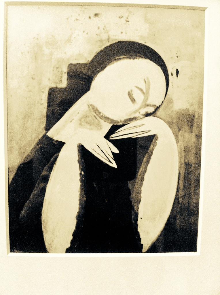 Il percorso, che inizia con Modigliani, si snoda fra pareti e divisori azzurro carta da zucchero, con opere intense, colorate e affascinanti di grandi artisti :Picasso, Chagall, Fattori Utrillo, Soutine, Brancusi, Dufy,