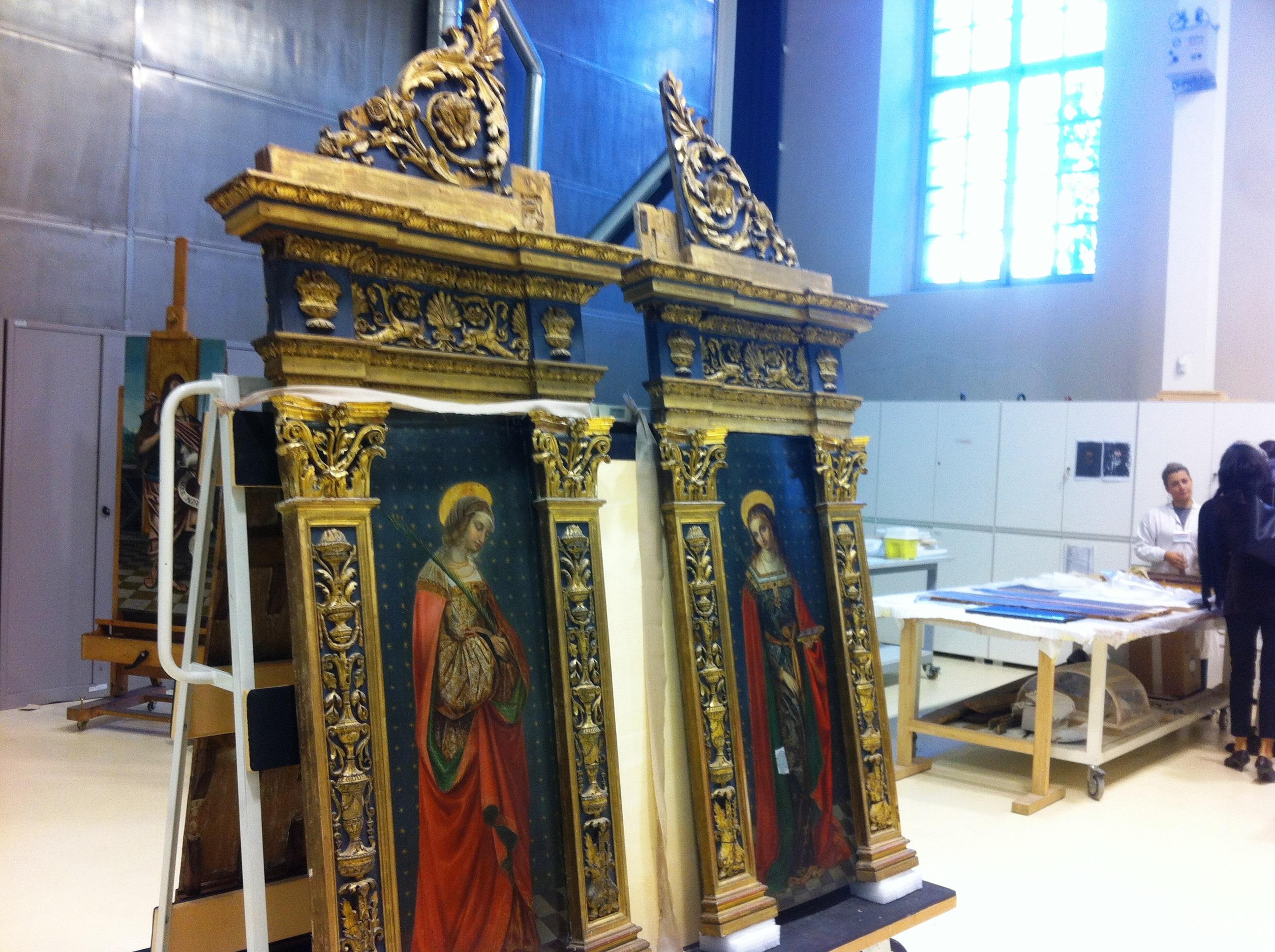 Il restauro è un mestiere delicato e implica grande peri