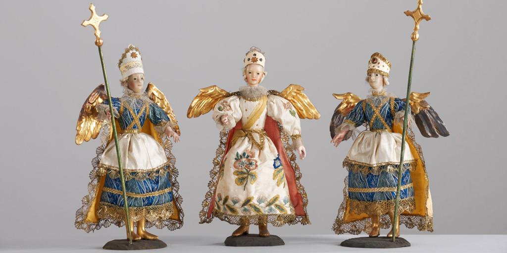 angeli per presepio di epoca barocca