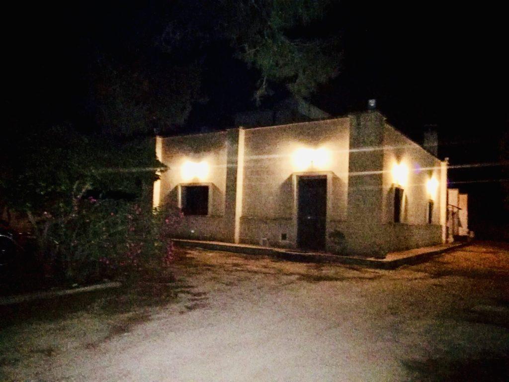 Il Sambuco di notte
