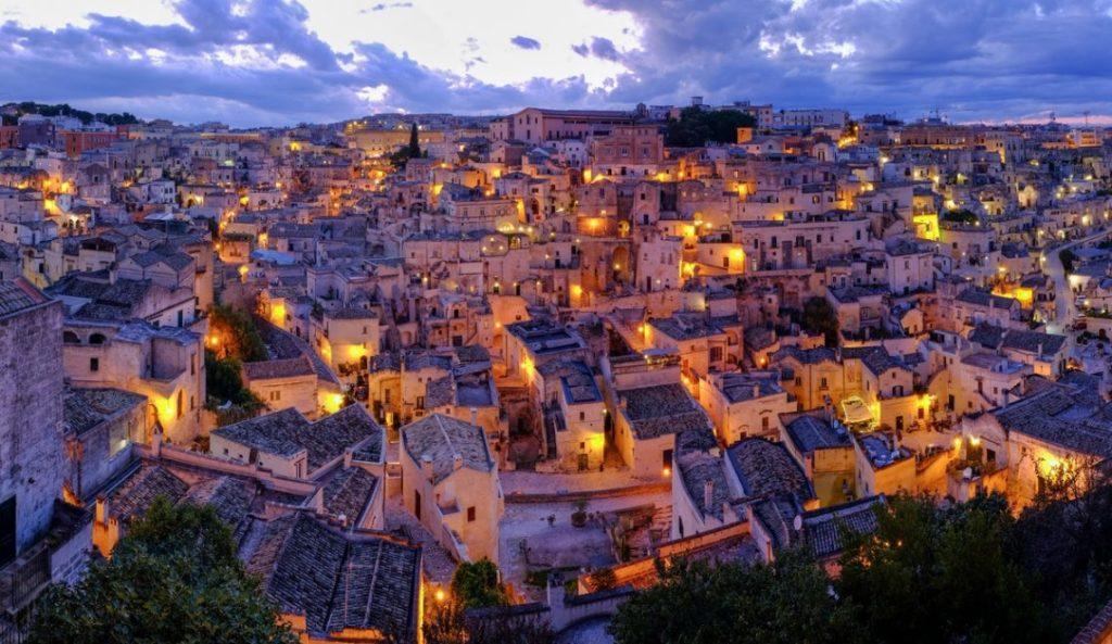 Matera é la Capitale Europea della Cultura 2019