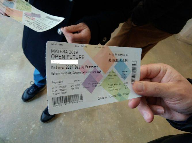 Passaporto è il ticket unico per gli eventi di Matera